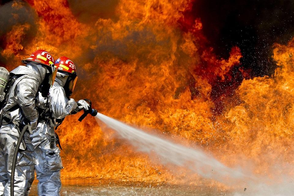 Terjadi Kebakaran Gedung Perkantoran Kecelakaan Kerja