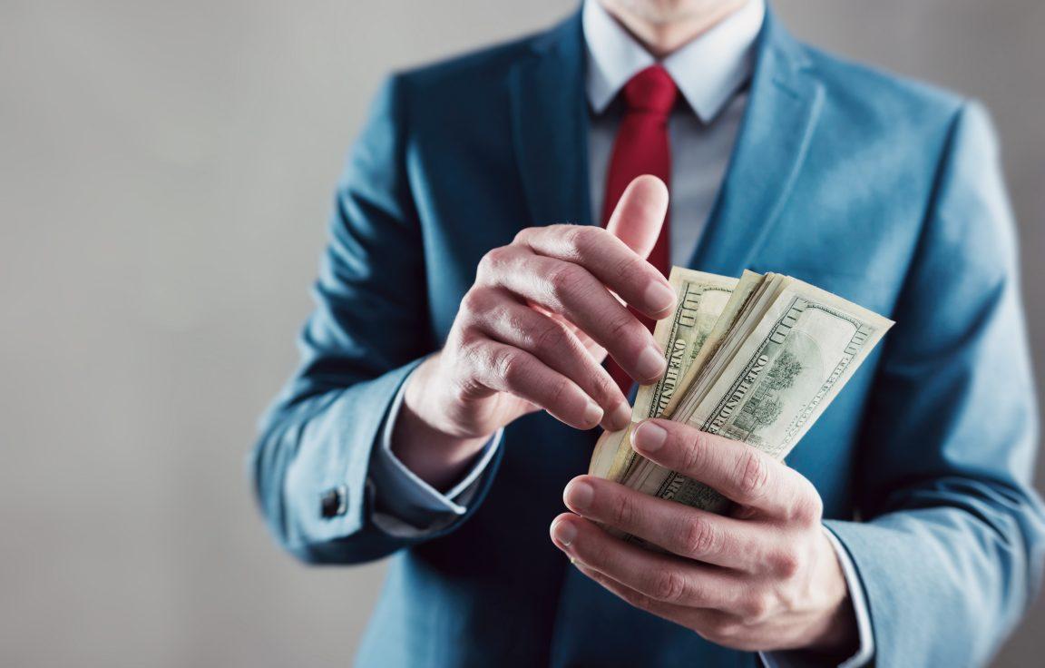 Pekerja Kantoran Keuangan Pribadi Uang Baru